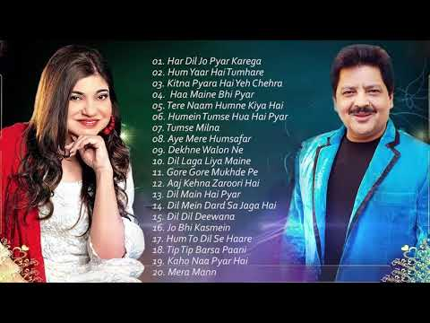 best-songs-udit-narayan-&-alka-yagnik-/-evergreen-romantic-songs-/-awesome-duets---superhit-jukebox