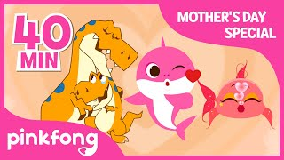 Hey, Mommy Shark and more | +Compilation | Mother's Day Special | Pinkfong Songs for Children
