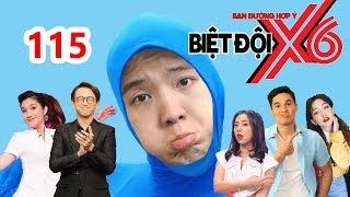 X6 SQUAD| #114 |BI MAX screams since Si Thanh-Cat Tuong-Miko force him to drink coffee fish sauce.