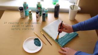 Big/Little Canvas Demonstration
