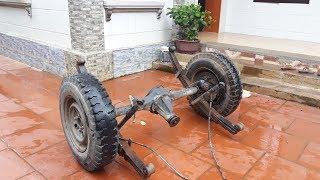 Rear axle set (visai) - Hydraulic brake