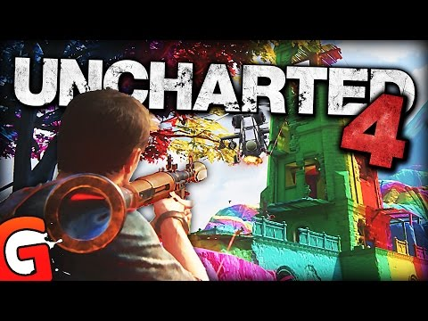 THESE CHEATS ARE AMAZING! - Uncharted 4 Funny Gameplay Moments!