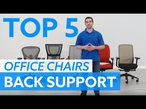 Top 5 Office Chairs For Back Support