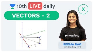 Vectors - Lecture 2 | Class 10 | Unacademy Foundation - Physics | Seema Rao
