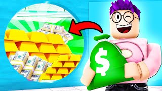 Can We ROB AN EXPENSIVE BANK In ROBLOX?! (WE WENT POOR TO RICH!)
