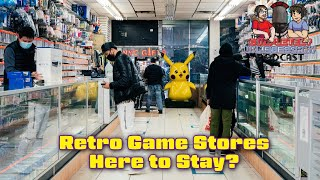 Are Retro Game Stores Here to Stay?
