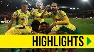HIGHLIGHTS: Norwich City 3-2 Bolton Wanderers