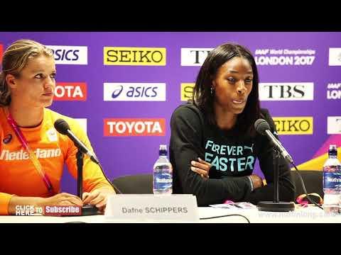 DAFNE SCHIPPERS TALKS WINNING HER SECOND WORLD CHAMPIONSHIP GOLD