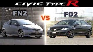 [ENG CC] Civic Type R FN2 vs. FD2 Tsukuba 2010 thumbnail