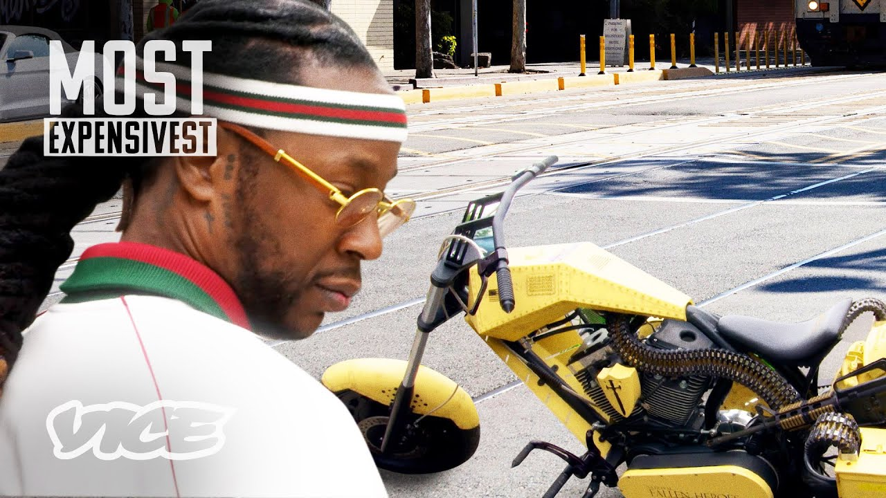 2 Chainz Checks Out $200K Choppers | MOST EXPENSIVEST
