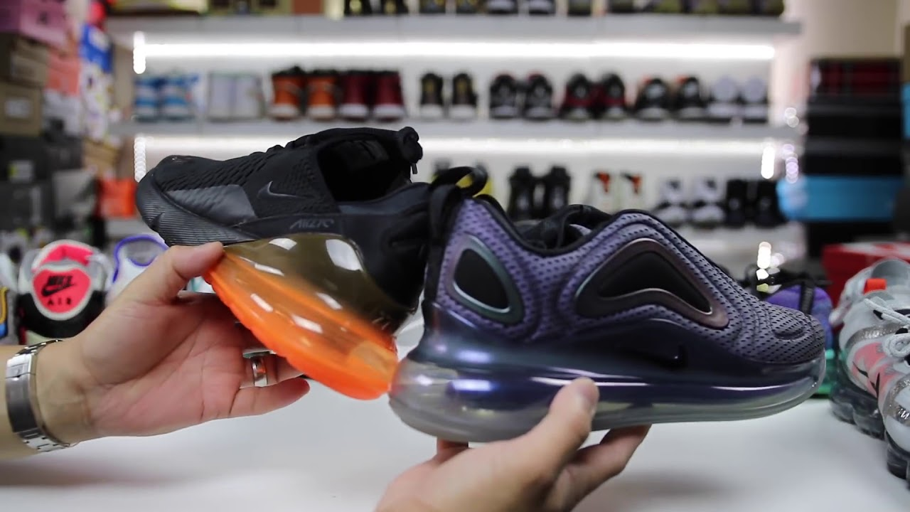 Nike AIR MAX 720 vs AIR MAX 270 vs VAPORMAX! WILL NIKE