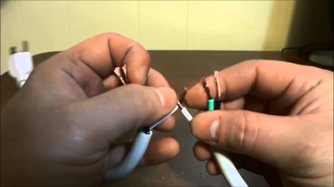How To Fix A Broken Electrical Power Cord With 3 Prongs Youtube What You Should Know On 30 Amp Marine Wiring Diagram
