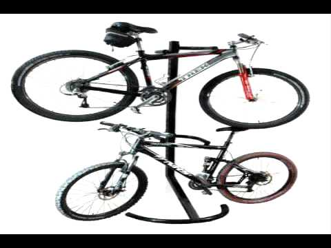 RAD Cycle Products Pro Two-Bike Gravity Freestanding Bike Stand