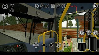 Proton Bus Simulator (by MEP) - simulation game for android - gameplay.