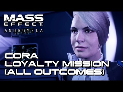 Mass Effect Andromeda - Cora Loyalty Mission (All Outcomes)