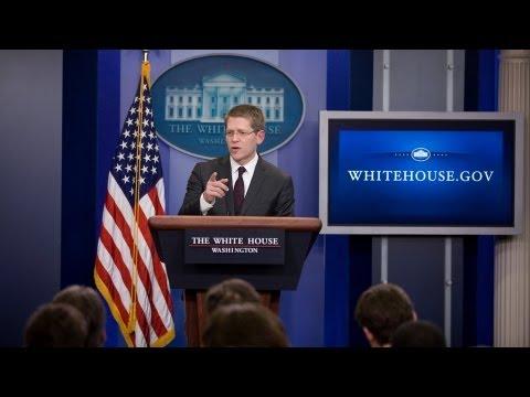 1/15/13: White House Press Briefing
