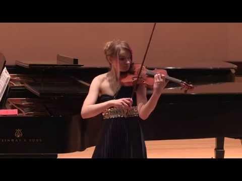 """N. Paganini """"La Campanella"""" transcription by William Primrose"""