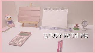 [2019.10.12] D-134 CPA 회시생, 같이 공부해요, STUDY WITH ME, 장작소리ASMR