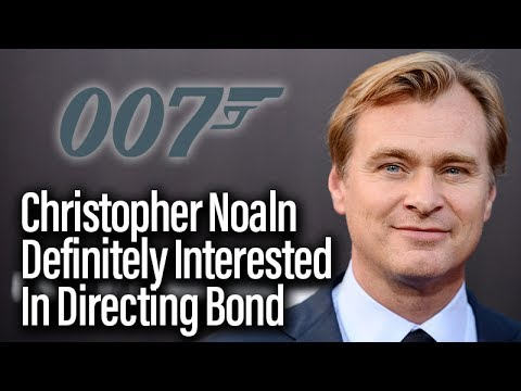 Christopher Nolan Definitely Interested In Directing James Bond