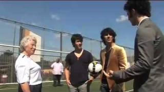 Jonas Brothers vs The Queen- Football