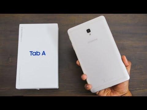 Samsung Galaxy Tab A (2017) Unboxing & Impressions   Budget Samsung Tab