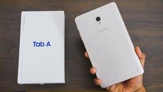 Samsung Galaxy Tab A (2017) Unboxing & Impressions | Budget Samsung Tab