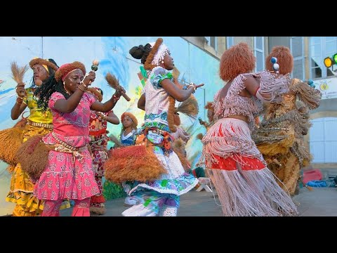 Gabon - Traditional Songs and Dances - Mbeng-Ntam - extended version