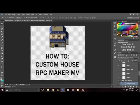 Editing RPG Maker MV Assets: House