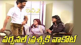 Angry Dhanush walks out of TV9 Interview !