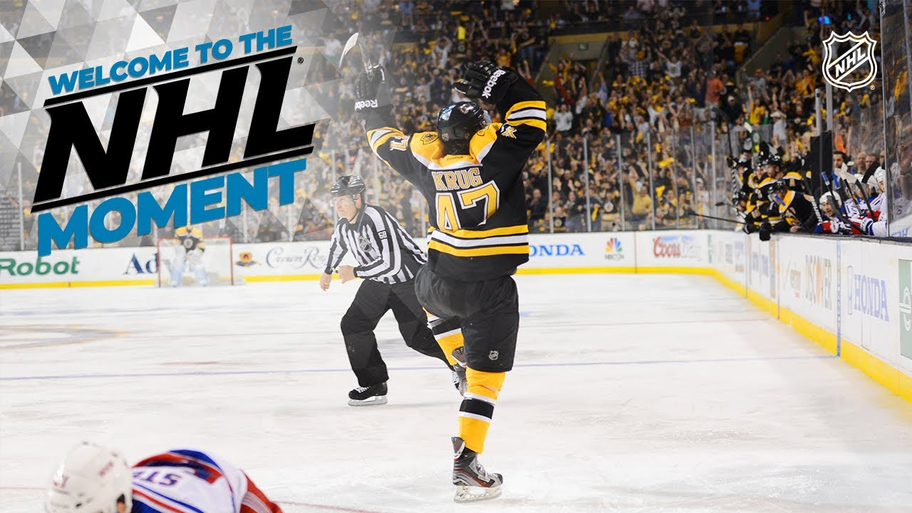 Torey Krug Remembers His Welcome To The Nhl Moment Youtube
