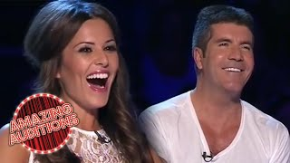 The BEST X Factor Audition SIMON COWELL Has Ever Seen!   Amazing Auditions