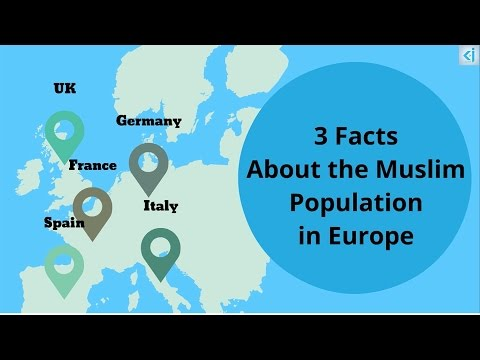 3 Facts about the Muslim Population in Europe