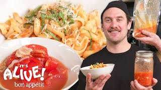 Download lagu Brad Makes Fermented Pasta Sauce | It's Alive | Bon Appétit