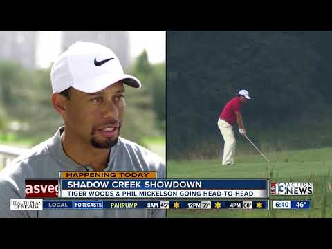 Tiger Woods vs. Phil Mickelson in Las Vegas