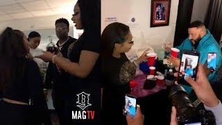 Casanova, Megan Thee Stallion & DJ Khaled Turn Up Backstage!