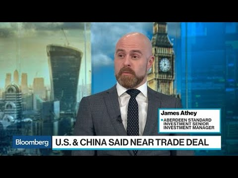 U.S.-China Trade Provides a Bounce, Not a Rally, Aberdeen's Athey Says