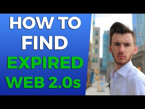 How to Find Expired LiveJournal Web 2.0 Domains