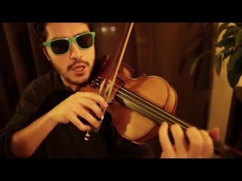 Violin Chopping Technique + left hand pizz- JAM