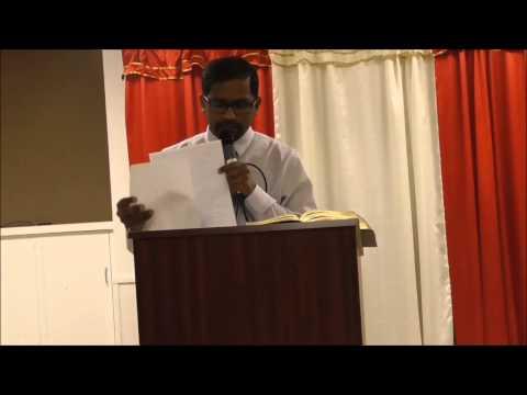 JFM Stamford Tamil Church | God's Message by Bro Arvind | 3/15/2015