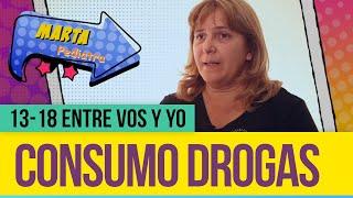 Consumo drogas - 13-18 entre vos y yo