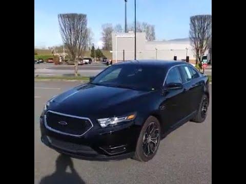 2018 Ford Taurus SHO V6 EcoBoost Engine - Chad's Rig