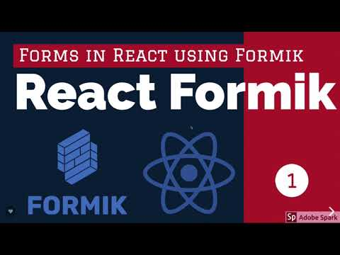 React Formik Writing Form without Tears #01