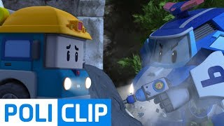 Could you break the cement that locked Micky?   Robocar Poli Rescue Clips