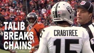 Aqib Talib Breaker of Chains: Broncos vs Raiders