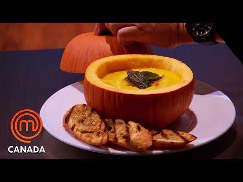 The Pumpkin Challenge  🎃 | MasterChef Canada | MasterChef World
