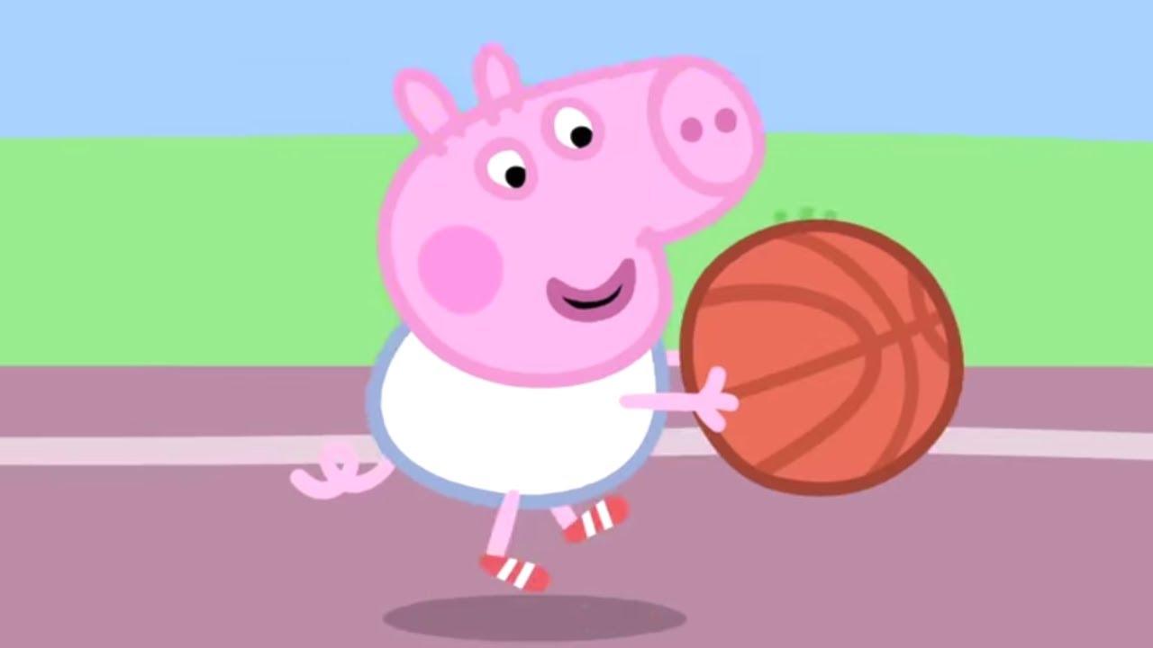 Peppa Pig Português Brasil ? Basquetebol ? HD | Desenhos Animados