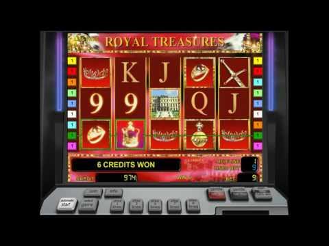 Как играть в игровой автомат Royal treasure. Обучающее видео.