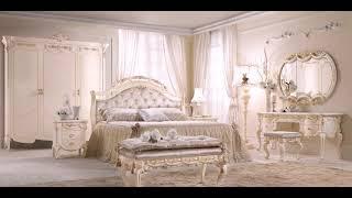 Interior Kamar Tidur Mewah Duco Putih Klassik Modern FK KS 202