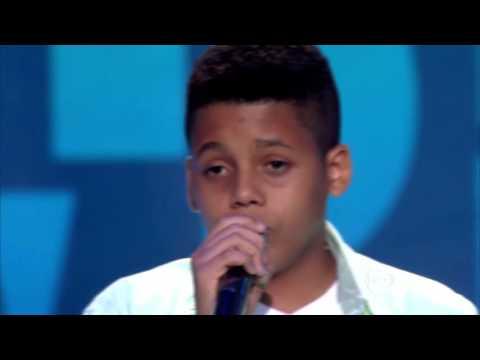 Robert Lucas canta 'When I was your man' no The Voice Kids - Audições|1ª Temporada