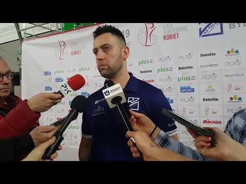 Piotr Matela po meczu Bank Pocztowy Pałac - Grot Budowlani Łódź 0:3 [28.03.2019]